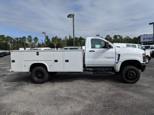 2019 Silverado 4500 Regular Cab DRW 4x4, Knapheide Standard Service Body #KH314163 - photo 4