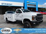 2019 Silverado 4500 Regular Cab DRW 4x4, Knapheide Service Body #KH314163 - photo 1