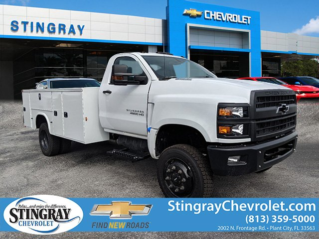 2019 Silverado 4500 Regular Cab DRW 4x4, Knapheide Service Body #KH314259 - photo 1