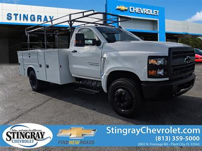 2019 Chevrolet Silverado 4500 Regular Cab DRW 4x2, Knapheide Steel Service Body #KH316125 - photo 3