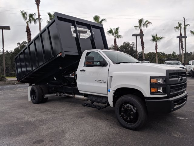 2019 Silverado 5500 Regular Cab DRW 4x2, Action Fabrication Landscape Dump #KH376716 - photo 3