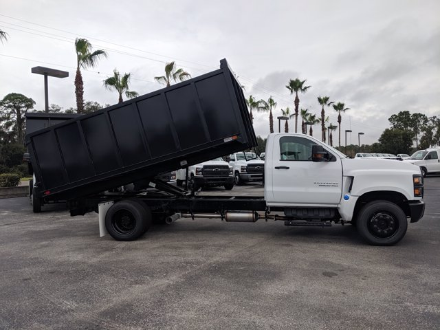 2019 Chevrolet Silverado 5500 Regular Cab DRW 4x2, Action Fabrication Landscape Dump #KH376716 - photo 4