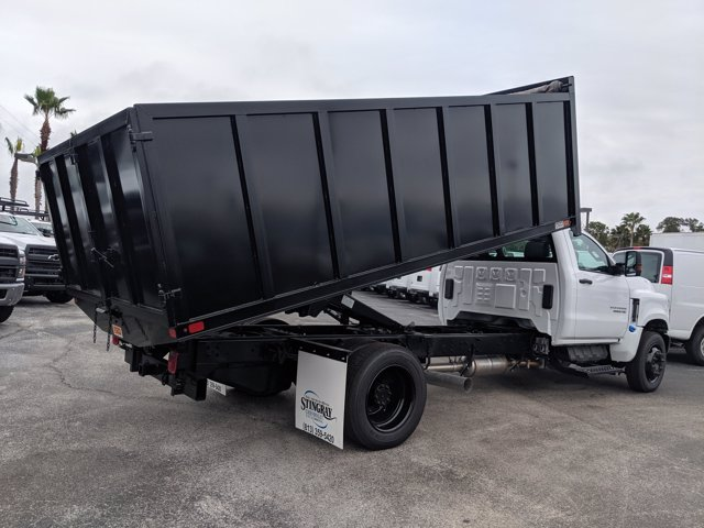 2019 Silverado 5500 Regular Cab DRW 4x2, Action Fabrication Landscape Dump #KH376716 - photo 2