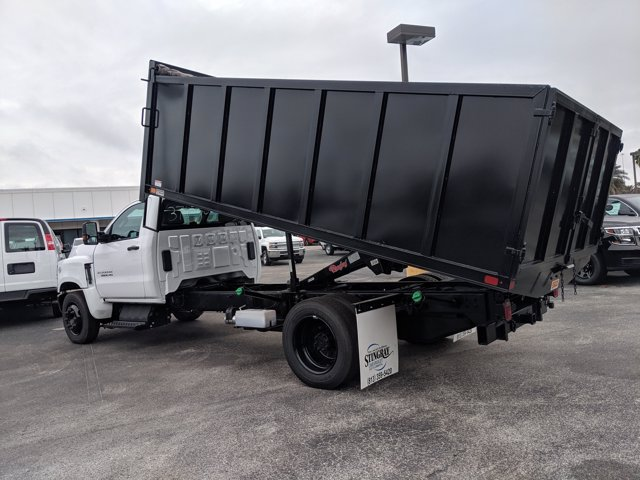 2019 Chevrolet Silverado 5500 Regular Cab DRW 4x2, Action Fabrication Landscape Dump #KH376716 - photo 6