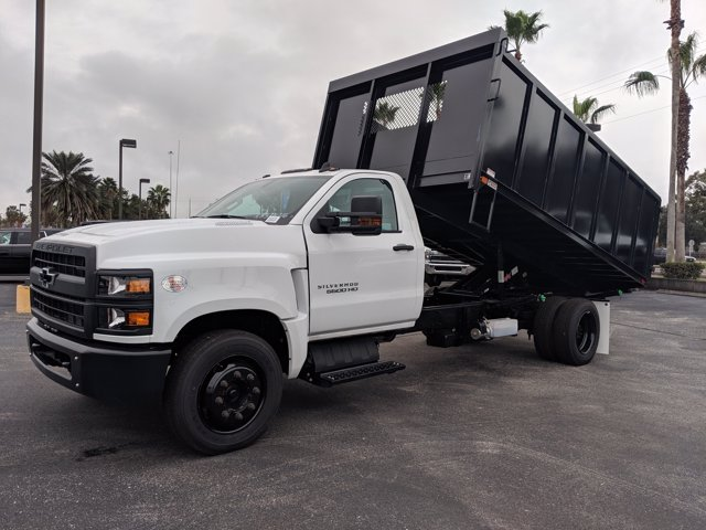 2019 Silverado 5500 Regular Cab DRW 4x2, Action Fabrication Landscape Dump #KH376716 - photo 8