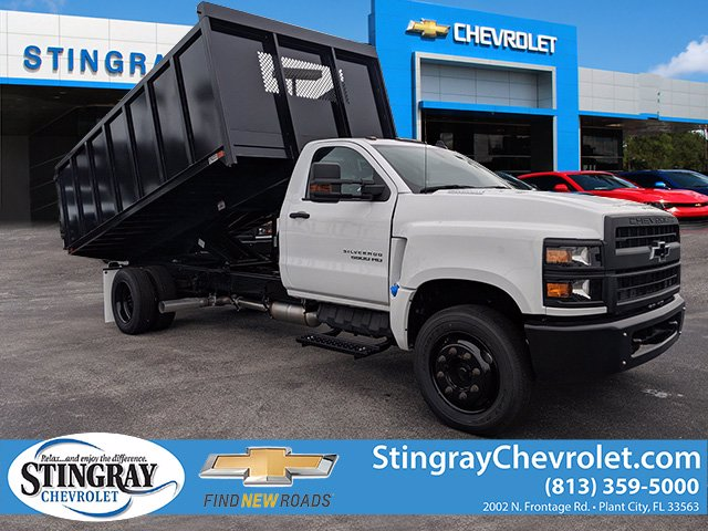 2019 Chevrolet Silverado 5500 Regular Cab DRW 4x2, Action Fabrication Landscape Dump #KH376716 - photo 1