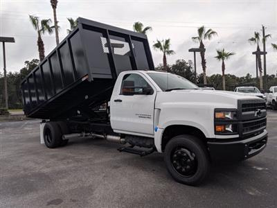 2019 Chevrolet Silverado 5500 Regular Cab DRW 4x2, Action Fabrication Landscape Dump #KH376716 - photo 3
