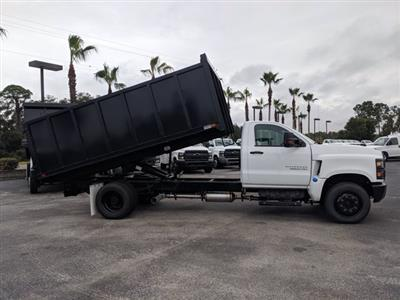 2019 Silverado 5500 Regular Cab DRW 4x2, Action Fabrication Landscape Dump #KH376716 - photo 4