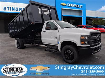 2019 Silverado 5500 Regular Cab DRW 4x2, Action Fabrication Landscape Dump #KH376716 - photo 1