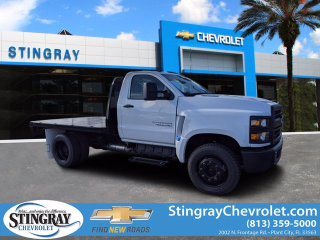 2019 Chevrolet Silverado 4500 Regular Cab DRW 4x2, Knapheide Platform Body #KH406333 - photo 1
