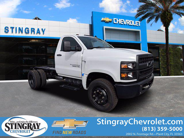 2019 Silverado 4500 Regular Cab DRW 4x2, Cab Chassis #KH608769 - photo 1