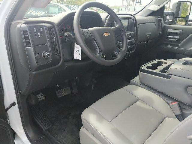2019 Silverado 4500 Regular Cab DRW 4x2,  Action Fabrication Platform Body #KH608793 - photo 12