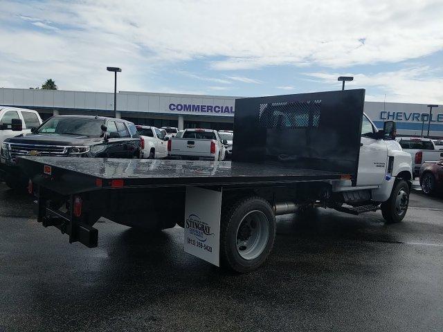 2019 Silverado 4500 Regular Cab DRW 4x2,  Action Fabrication Platform Body #KH608793 - photo 1