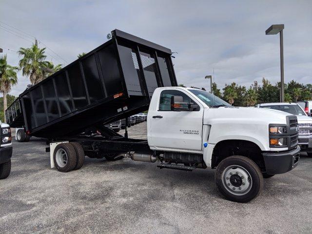 2019 Chevrolet Silverado 5500 Regular Cab DRW 4x4, Action Fabrication Landscape Dump #KH608807 - photo 4