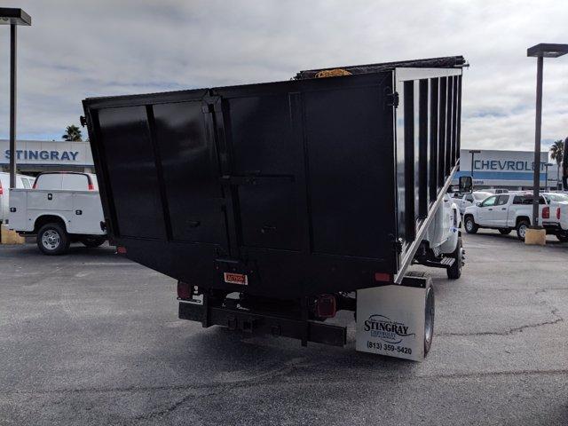 2019 Silverado 5500 Regular Cab DRW 4x4, Action Fabrication Landscape Dump #KH608807 - photo 2