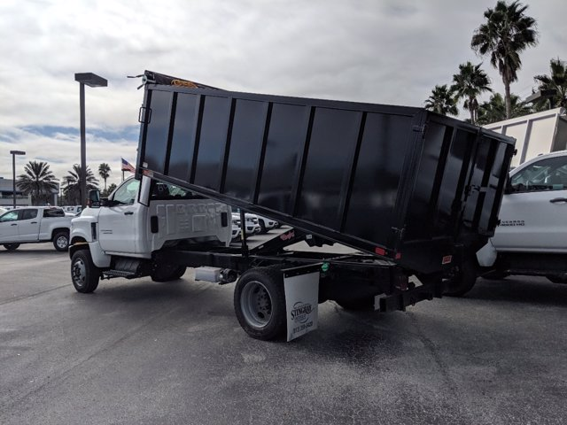 2019 Chevrolet Silverado 5500 Regular Cab DRW 4x4, Action Fabrication Landscape Dump #KH608807 - photo 5
