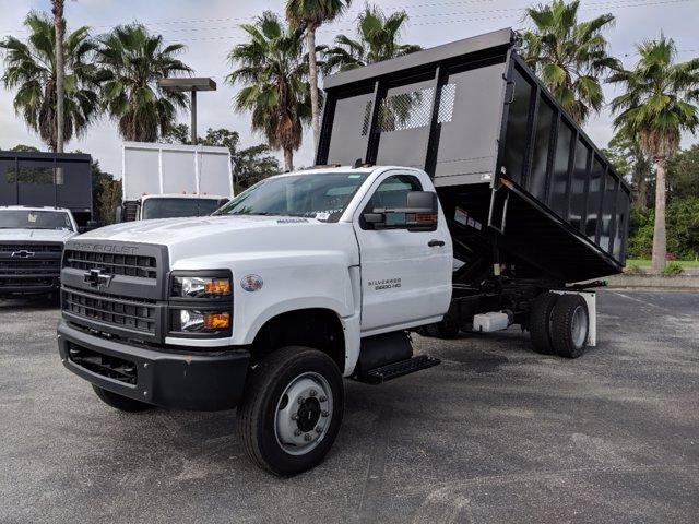 2019 Silverado 5500 Regular Cab DRW 4x4, Action Fabrication Landscape Dump #KH608807 - photo 6