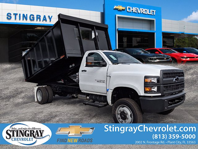 2019 Chevrolet Silverado 5500 Regular Cab DRW 4x4, Action Fabrication Landscape Dump #KH608807 - photo 1