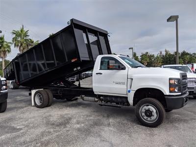2019 Silverado 5500 Regular Cab DRW 4x4, Action Fabrication Landscape Dump #KH608807 - photo 4
