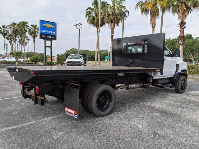 2019 Chevrolet Silverado 4500 Regular Cab DRW 4x4, Action Fabrication Platform Body #KH678602 - photo 2