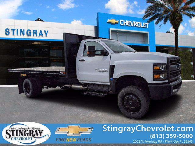 2019 Silverado 4500 Regular Cab DRW 4x4, Cab Chassis #KH678602 - photo 1
