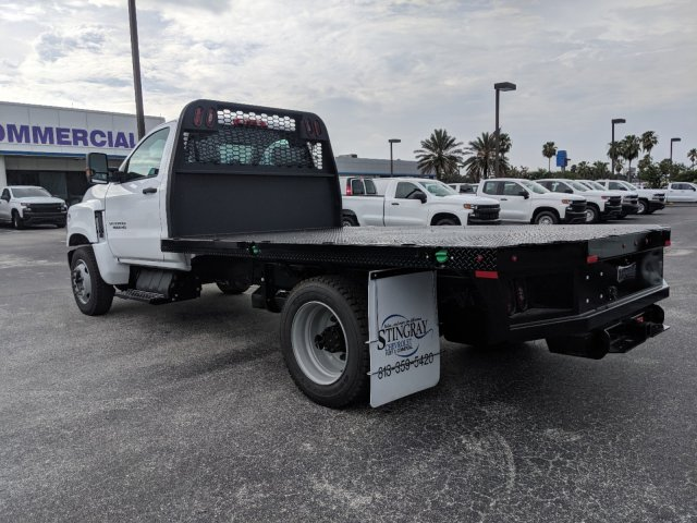 2019 Silverado Medium Duty Regular Cab DRW 4x2,  Knapheide PGNB Gooseneck Platform Body #KH851520 - photo 6