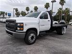 2019 Silverado Medium Duty Regular Cab DRW 4x2,  Knapheide PGNB Gooseneck Platform Body #KH851520 - photo 8