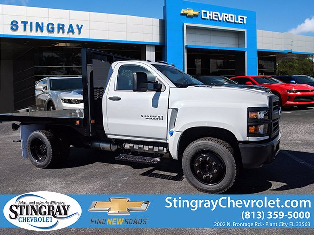 2019 Chevrolet Silverado 4500 Regular Cab DRW 4x2, Knapheide Platform Body #KH851521 - photo 1