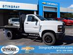 2019 Silverado Medium Duty DRW 4x2,  Knapheide Platform Body #KH851521 - photo 1