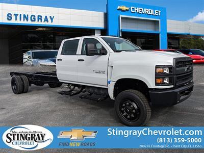 2019 Chevrolet Silverado 5500 Crew Cab DRW 4x4, Cab Chassis #KH851538 - photo 1