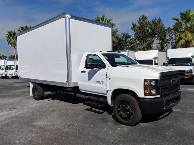2019 Silverado 5500 Regular Cab DRW 4x2, J&B Truck Body Dry Freight #KH862836 - photo 3