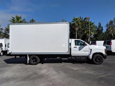 2019 Silverado 5500 Regular Cab DRW 4x2, J&B Truck Body Dry Freight #KH862836 - photo 4