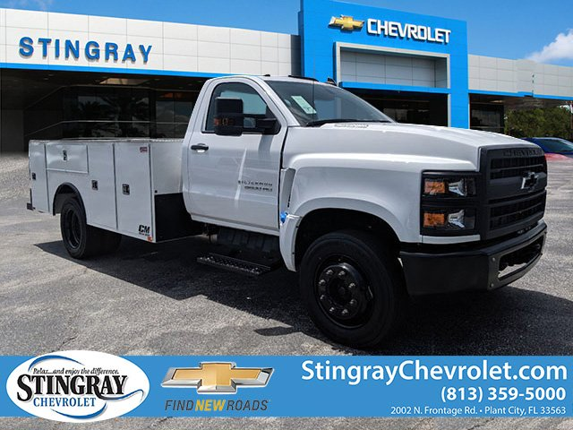 2019 Silverado Medium Duty DRW 4x2,  CM Truck Beds Service Body #KH862882 - photo 1