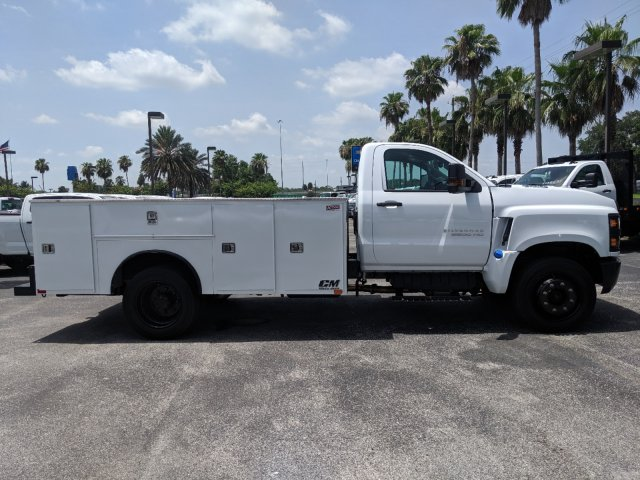 2019 Silverado Medium Duty DRW 4x2,  CM Truck Beds Service Body #KH862882 - photo 3