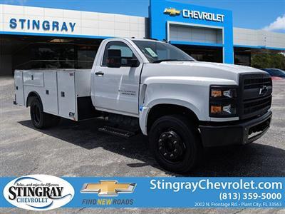 2019 Silverado Medium Duty DRW 4x2,  CM Truck Beds Service Body #KH862882 - photo 1