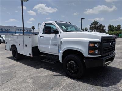 2019 Silverado Medium Duty DRW 4x2,  CM Truck Beds Service Body #KH862882 - photo 4