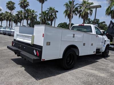2019 Silverado Medium Duty DRW 4x2,  CM Truck Beds Service Body #KH862882 - photo 2