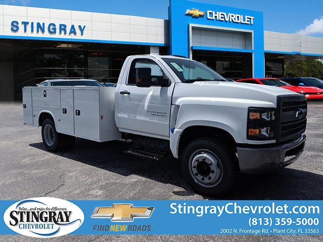2019 Silverado Medium Duty Regular Cab DRW 4x2,  Knapheide Service Body #KH863120 - photo 1
