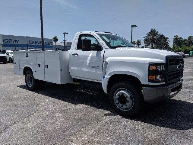 2019 Silverado Medium Duty Regular Cab DRW 4x2,  Knapheide Standard Service Body #KH863120 - photo 3