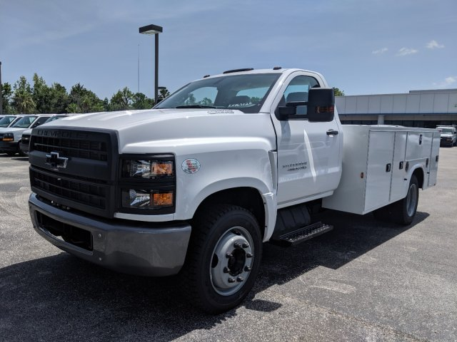 2019 Silverado Medium Duty Regular Cab DRW 4x2,  Knapheide Standard Service Body #KH863120 - photo 8