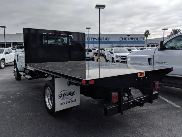 2019 Silverado 5500 Crew Cab DRW 4x4, Action Fabrication Platform Body #KH863396 - photo 6