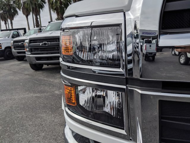 2019 Silverado 5500 Crew Cab DRW 4x4, Action Fabrication Platform Body #KH863396 - photo 9
