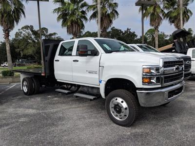 2019 Silverado 5500 Crew Cab DRW 4x4, Action Fabrication Platform Body #KH863396 - photo 3