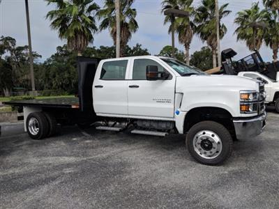 2019 Silverado 5500 Crew Cab DRW 4x4, Action Fabrication Platform Body #KH863396 - photo 4