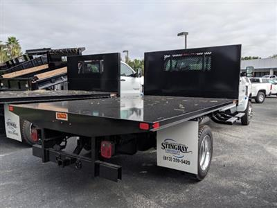 2019 Silverado 5500 Crew Cab DRW 4x4, Action Fabrication Platform Body #KH863396 - photo 2