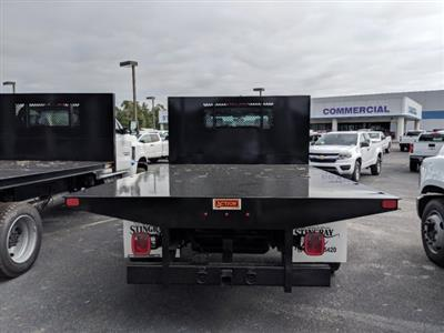 2019 Silverado 5500 Crew Cab DRW 4x4, Action Fabrication Platform Body #KH863396 - photo 5