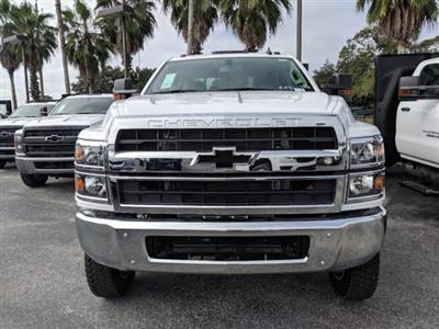 2019 Silverado 5500 Crew Cab DRW 4x4, Action Fabrication Platform Body #KH863396 - photo 8