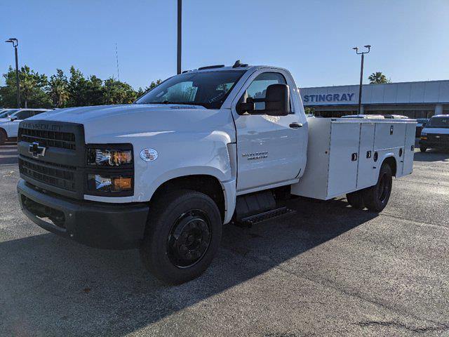 2019 Silverado Medium Duty Regular Cab DRW 4x2,  Reading Classic II Steel Service Body #KH885244 - photo 8