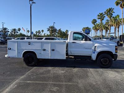 2019 Silverado Medium Duty Regular Cab DRW 4x2,  Reading Classic II Steel Service Body #KH885244 - photo 4