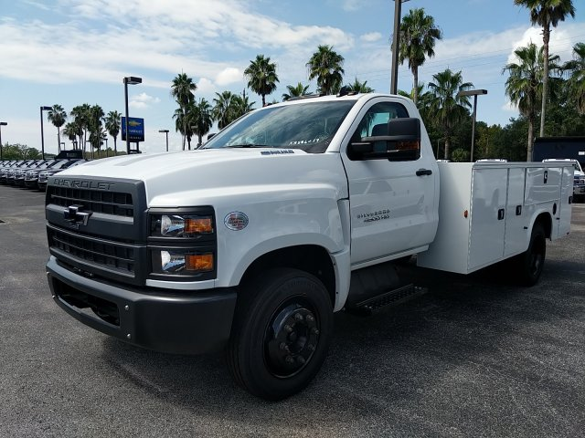 2019 Silverado Medium Duty Regular Cab DRW 4x2,  Knapheide Service Body #KH886019 - photo 1